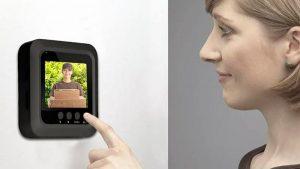 Mirilla digital vídeo