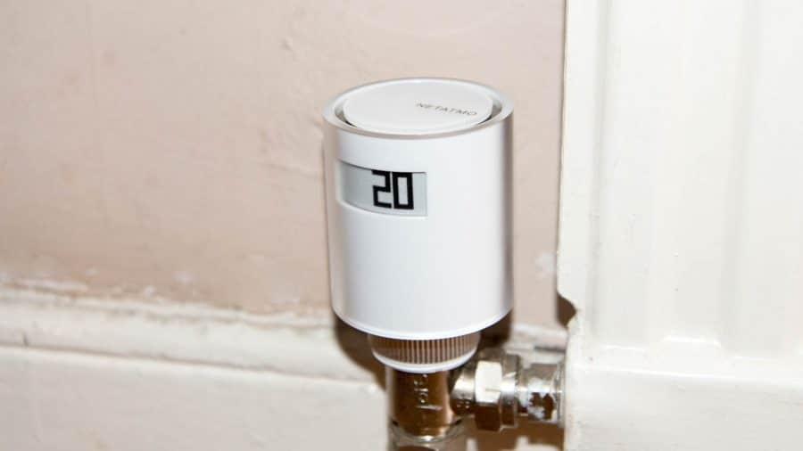 1.5 V Honeywell Home THR092HRT Cabezal Termost/ático Radiador Wireless para Sistema Evohome Blanco