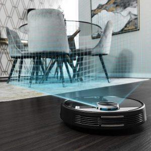Robot aspirador español
