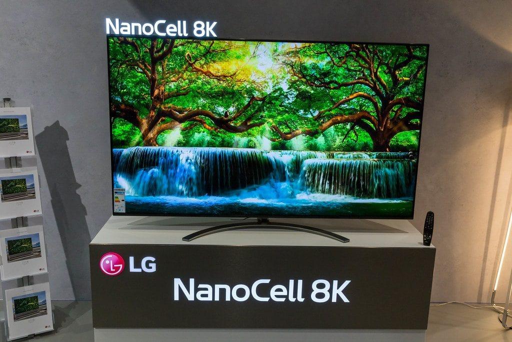 Mejor televisor Smart TV 8K